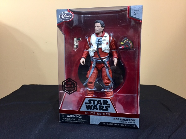 New Disney Elite Series Poe Dameron