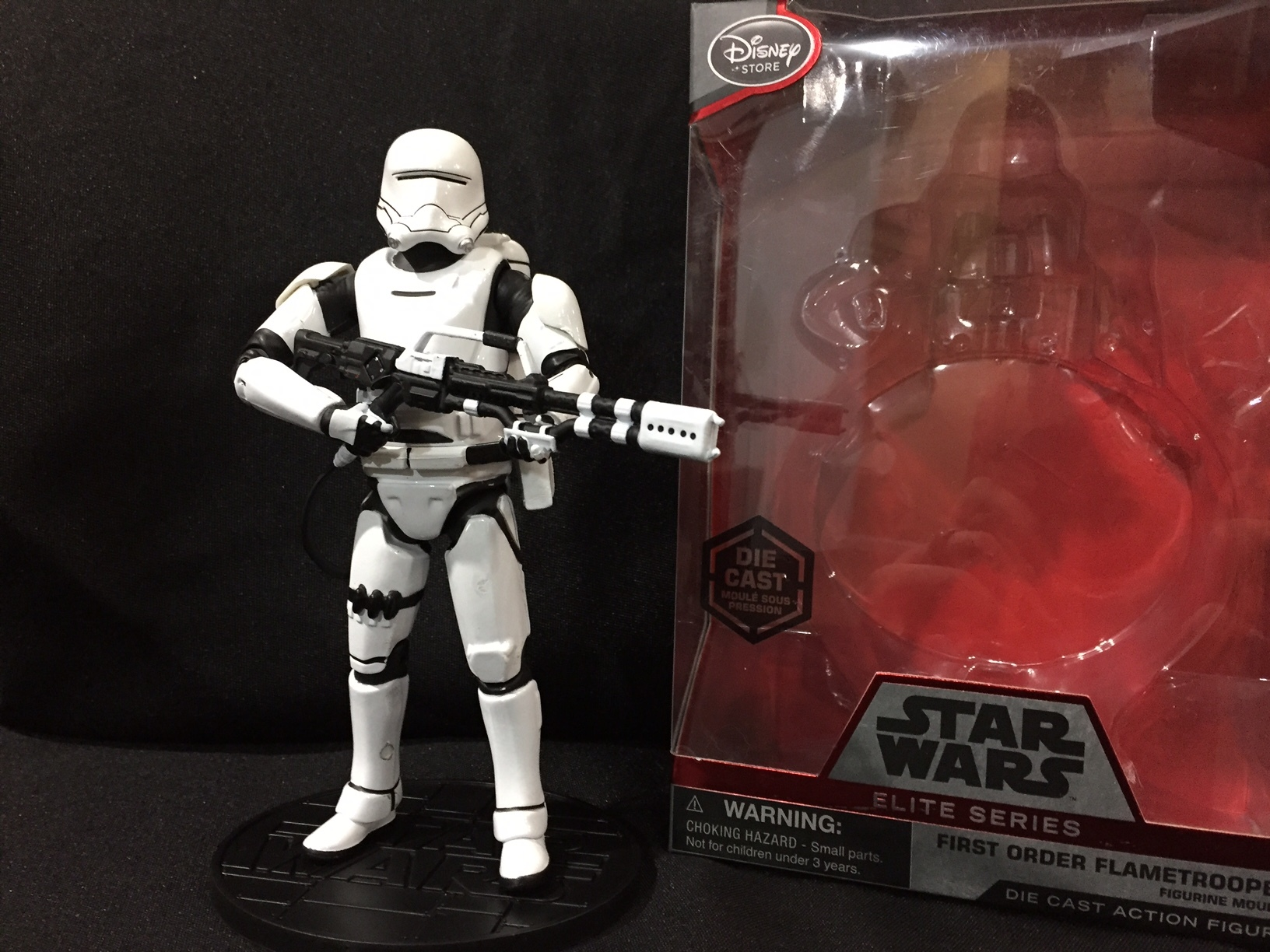 Opened Disney Elite series first order Flametrooper