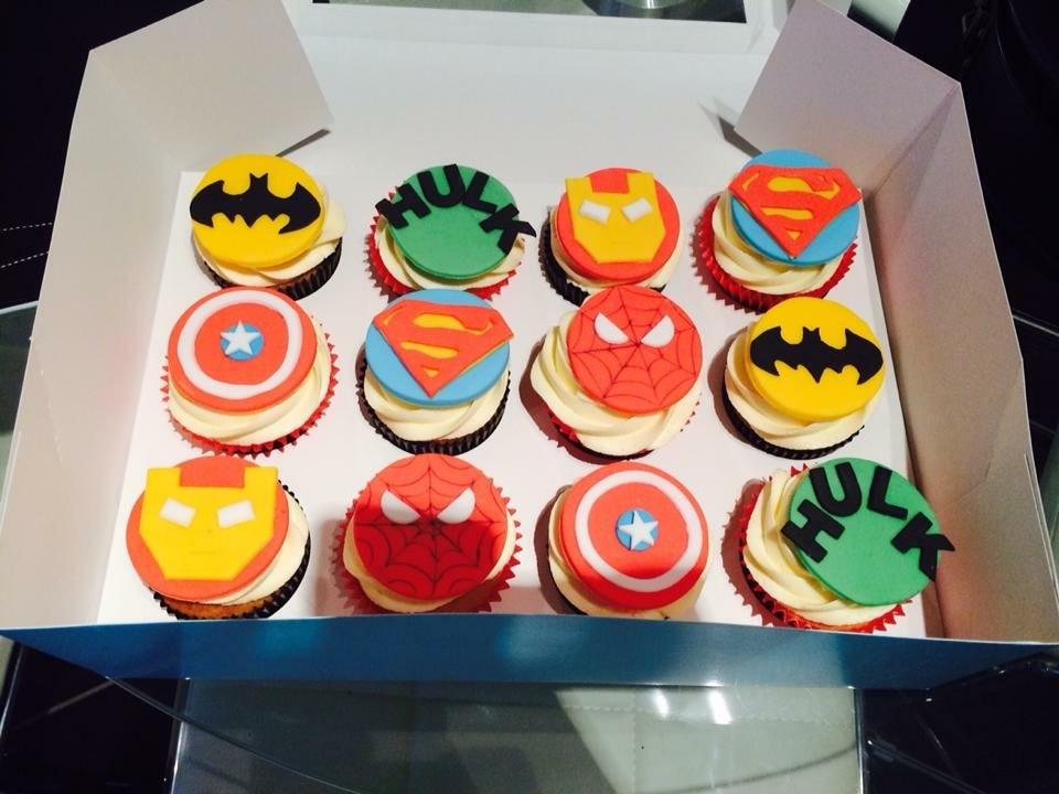 Superhero box of 12 - £21