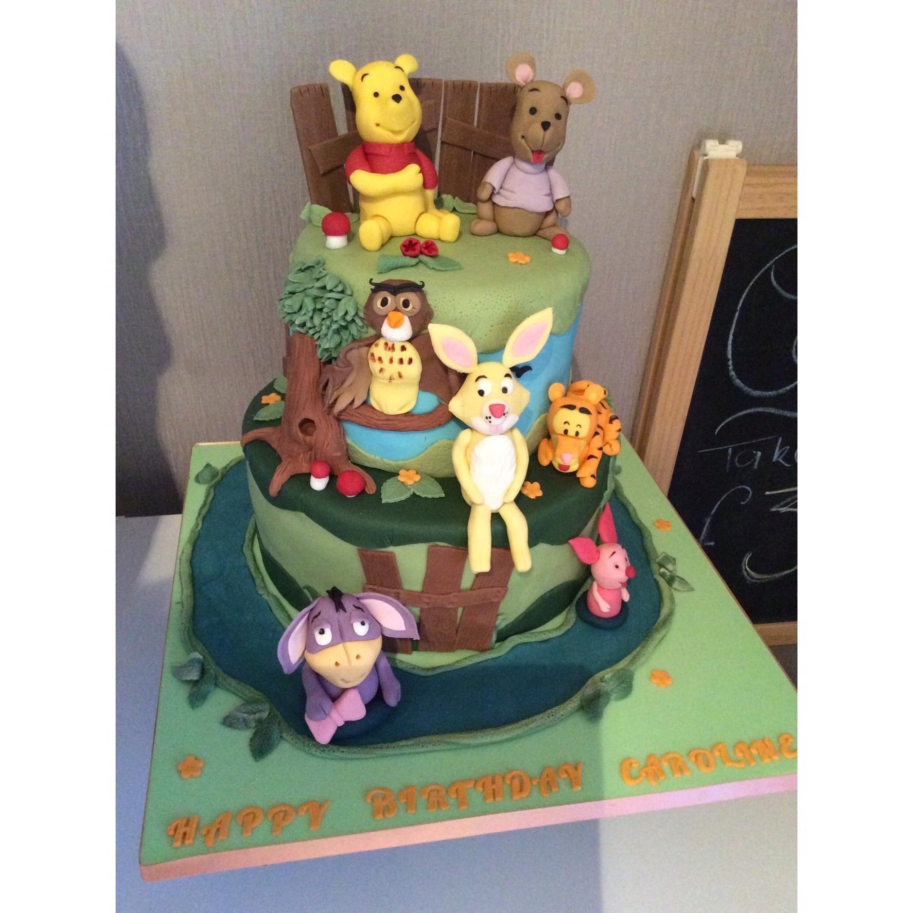 Winnie and friends £120
