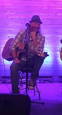 Doug performing at Open Chord in Knoxville, Tennessee