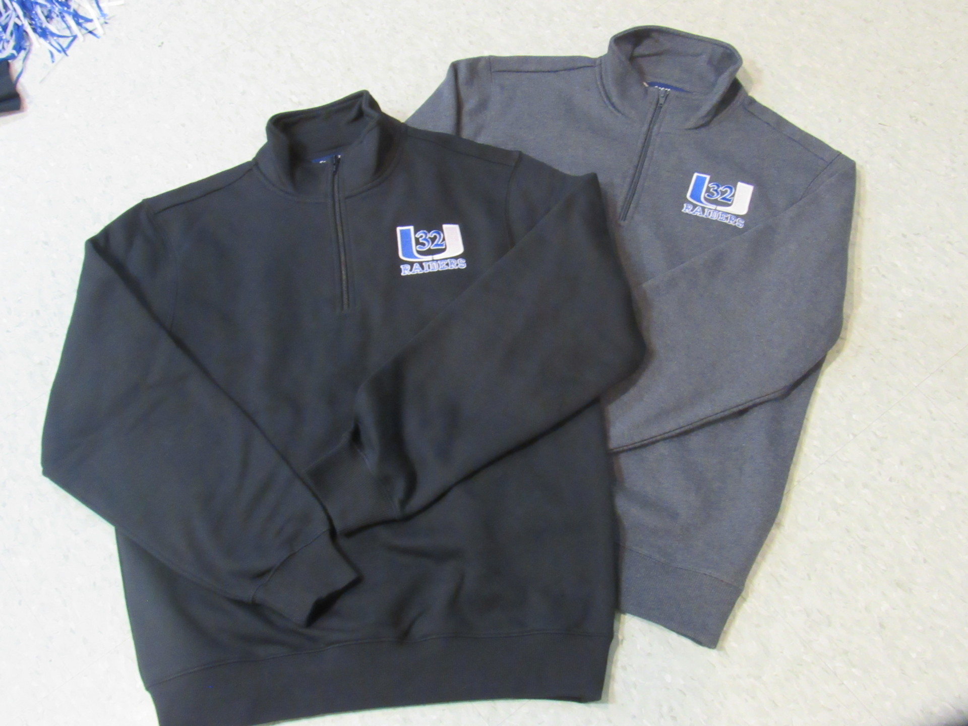 1/4 Zip Sweatshirts