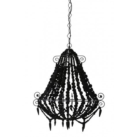 I feel the need, the need for Beads - Beaded chandelier.