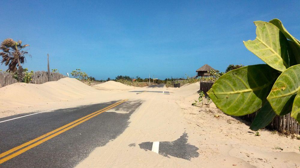 Sand Straße