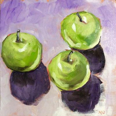 Little Green Apples - SOLD