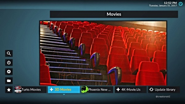In Theater Movies Right at Home