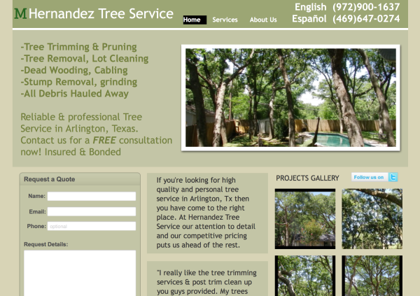 Hernandez Tree Service | Arlington, Texas