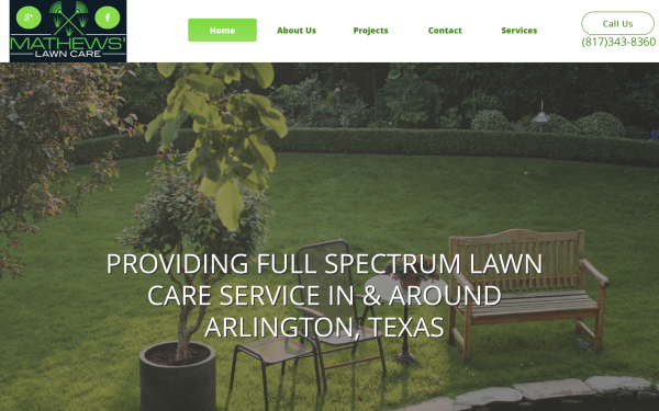 Mathews' Lawn Care | Arlington, Texas