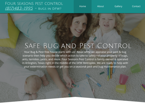 Four Seasons Pest DFW | Arlington, Texas
