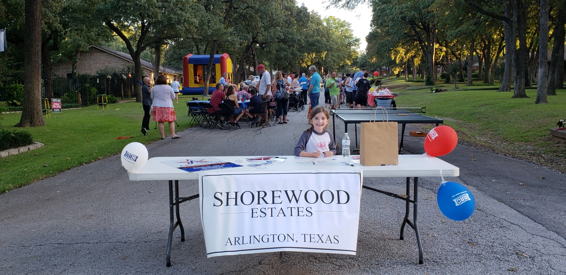 National Night Out Arlington, Tx - Shorewood Estates - Fall 2018