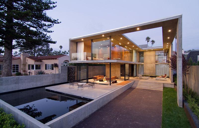 Building Modern Homes With Concrete - Advantages of Using Concrete