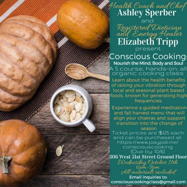 Conscious Cooking Nourish The Mind Body & Soul
