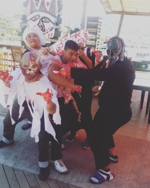 Halloween Staff Dress Up