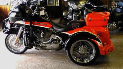 Custom Motorcycles & Trike Conversison