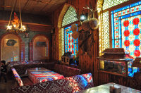 Travel, Tourism, Tour, Tourist, Culture, History, Heritage, Cultural Tour, UNESCO World Heritage, Sheki, Sheki Tour, Palace of Sheki Khans, Sheki King Palace, Sheki Caravanserai, Kish, Kish Village, Kish Church, Albanian Church, Pakhlava, Shebeke Workshop, Sheki Silk Carpets, Sheki Bazaar, Piti.