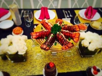 Formal Family Dinner/SkinnyChefVa