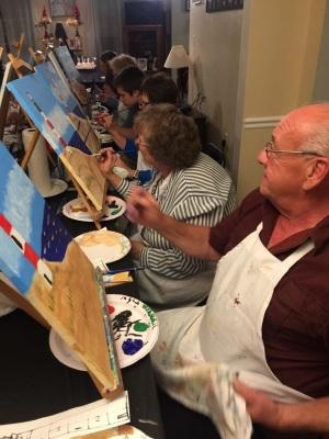 Local Paint PartiesHome Paint Parties/ SkinnyChefVa