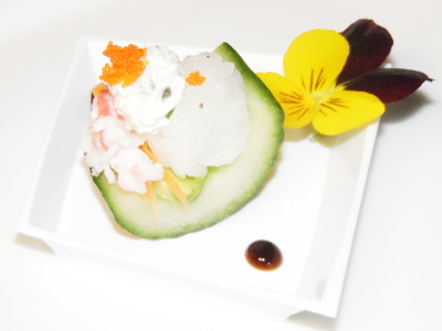 California Sushi Cucumber Carriages/SkinnyChefVa