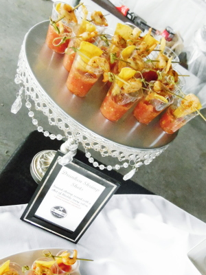 Drunken Shrimp Shots/Bloody Mary Salsa/Cocktail Hour/SkinnyChefVa