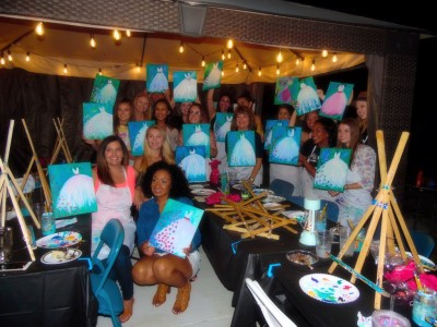 Local Paint Parties/ Home Paint Parties/ Skinny Chef Va