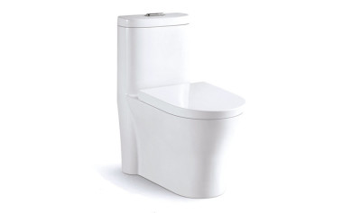Modern One Piece Toilet ABSBSN-832