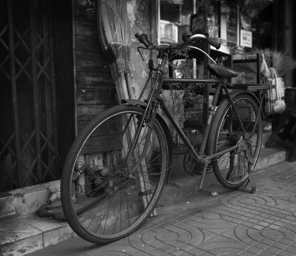 Bicycle on a Walk