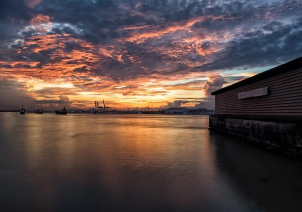 Harbor by Morning Light