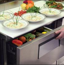 TRUE® Foodservice Work Top and Refrigerated Prep Tables