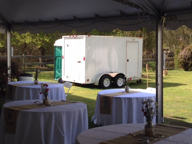 Special Event Trailer - On Site Refrigerated Walk-In Cooler - Catering, Weddings, Special Events & Emergency Outages