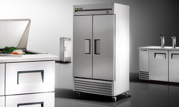 True Upright Reach-In Coolers & Freezers