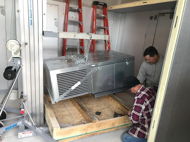 Refrigeration Equipment Assembly & Relocation Services
