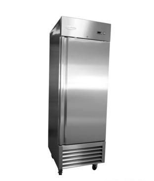 RR-1 1 Door Stainless Steel Refrigerator