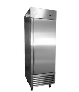 RR-1-19 1 Door Stainless Steel Refrigerator