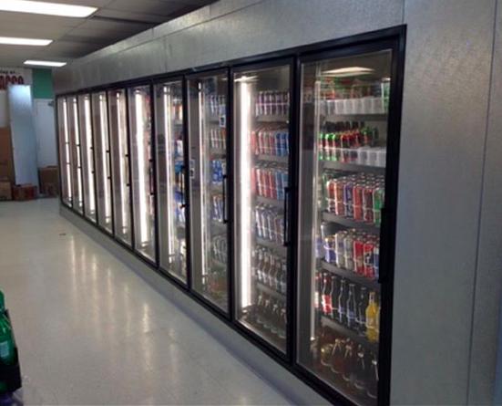 C-Store Display Walk-in Coolers & Beer Caves