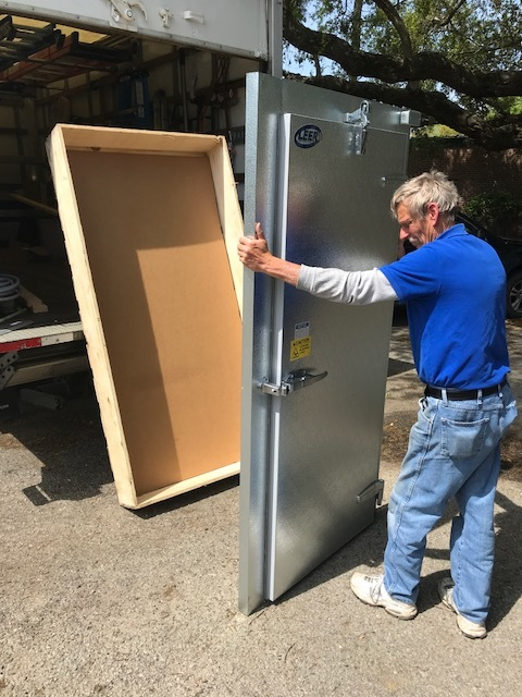 Walk-In Cooler Replacement Doors, Frames, Hardware, Strip Curtains, Gaskets