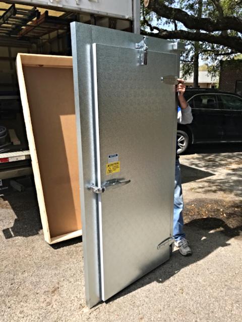 Retro-fit Doors & Frames For Walk-Ins