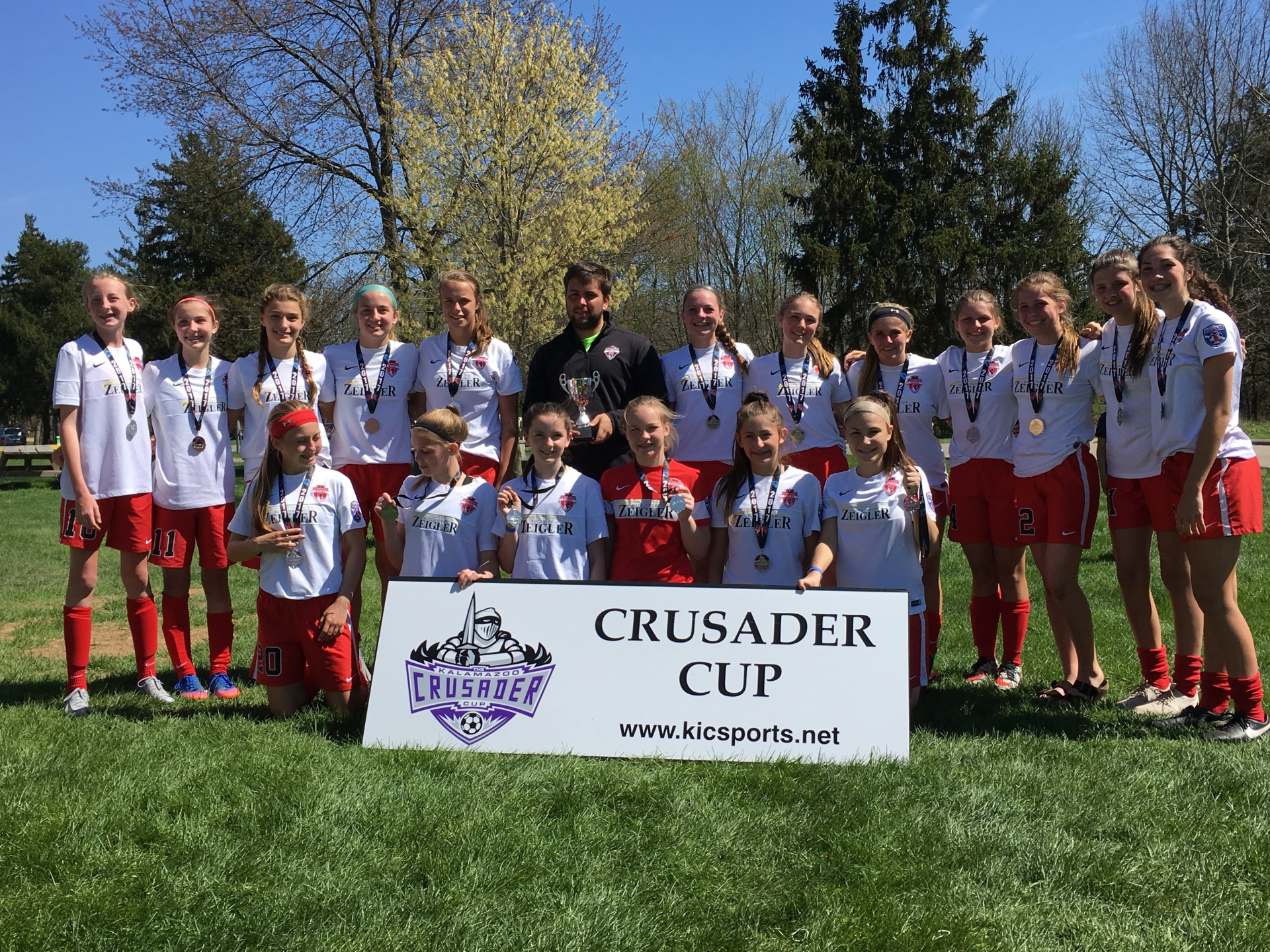 Kingdom SC U14 Girls