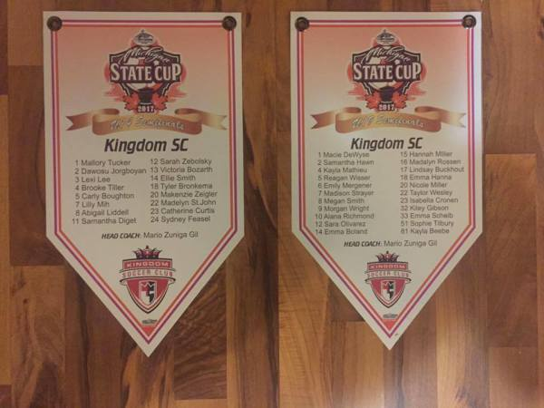 State Cup Semifinalist Banners