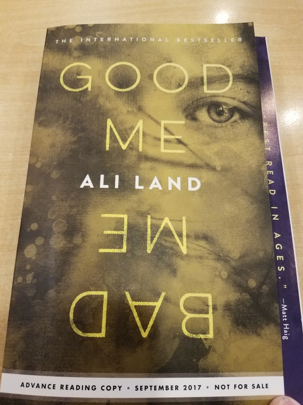 Book Review: Good Me Bad Me by Ali Land