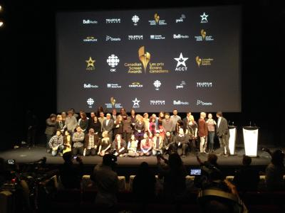 Canadian Screen Awards Nominee Announcement