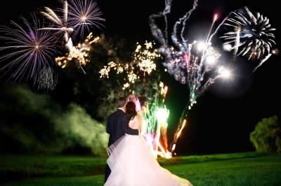 Ottawa Wedding Fireworks