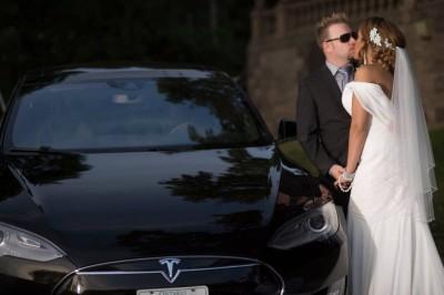 Wedding Tesla Style