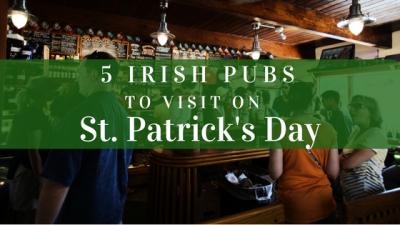 5 Irish Pubs to Visit on St. Patrick's Day in Ottawa