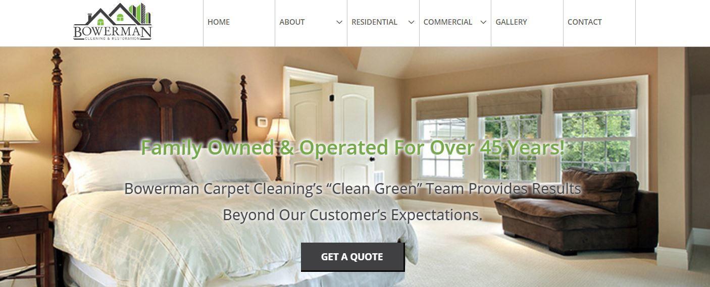 www.bowermancarpetcleaning.com