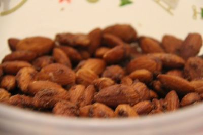 DIY Cinnamon Almonds