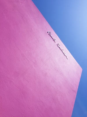 Visiting the Paul Smith Pink Wall