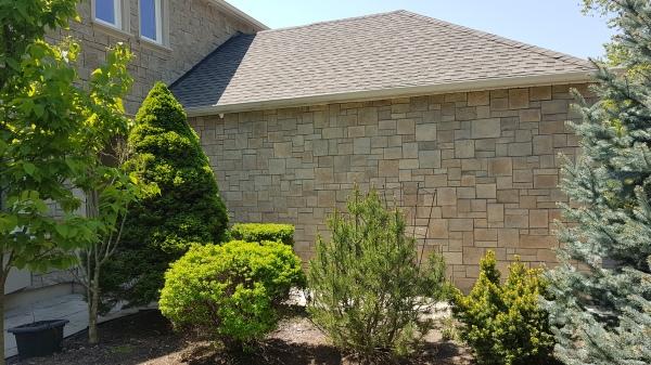 exterior stucco and stone