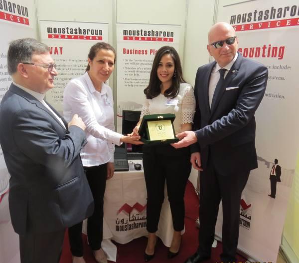 Moustasharoun Bureau participation in Sagesse job fair