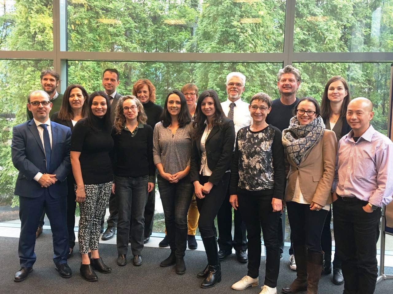 Moustasharoun Bureau participation in workshop at Germany