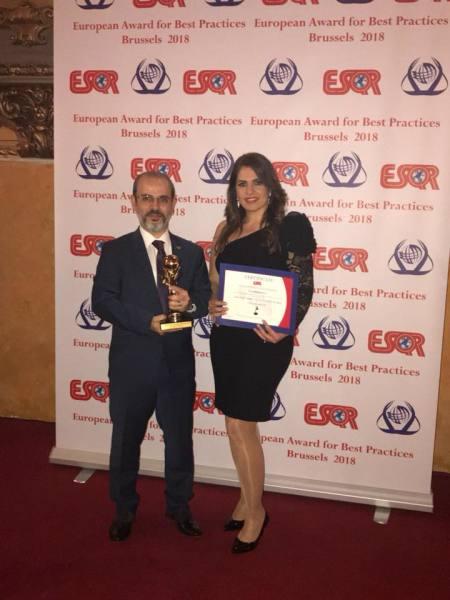 European Award for Best Practices 2018